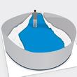 Monter une piscine hors sol acier