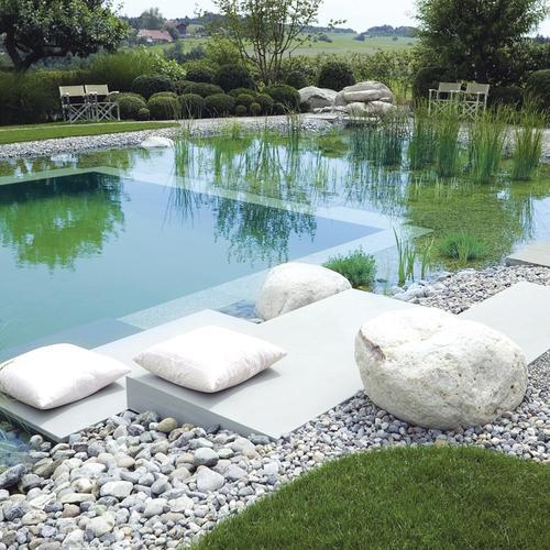 Jolie piscine carr autoport e prix - Prix piscine autoportee ...