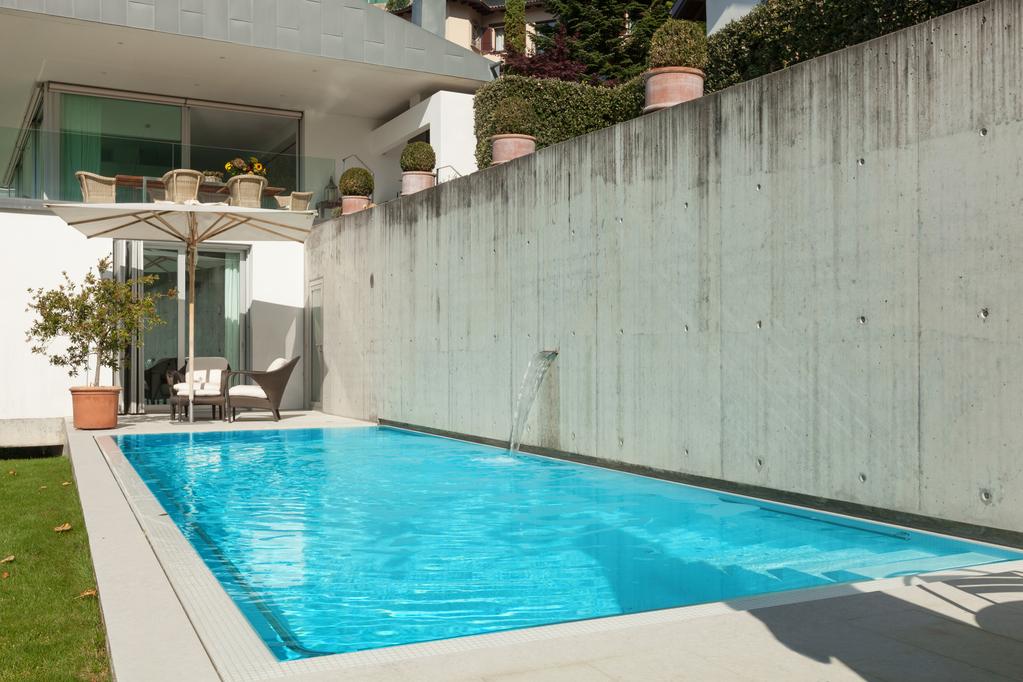 piscine en bton cir - Bton Color Extrieur Prix