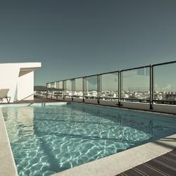 Solution aux taches brunes sur le liner d une piscine - Comment nettoyer le liner d une piscine ...