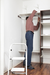 placard rangement acheter en kit ooreka. Black Bedroom Furniture Sets. Home Design Ideas