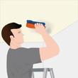 Enlever la moisissure au plafond