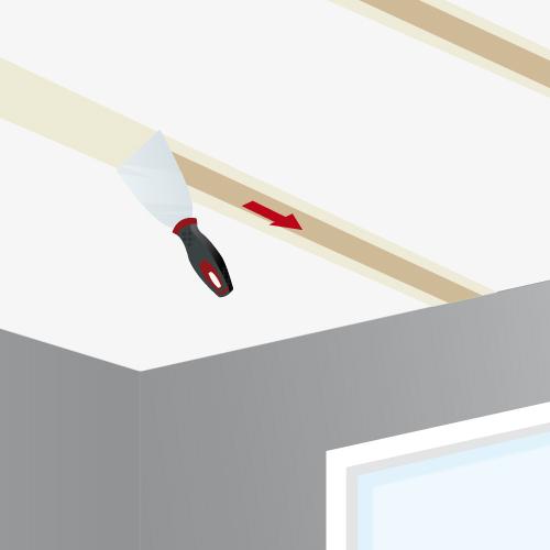 jointoyer les plaques de pl tre d 39 un plafond plafond. Black Bedroom Furniture Sets. Home Design Ideas
