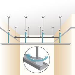 Faux plafond pvc tout savoir sur le faux plafond en pvc for Realiser faux plafond ba13