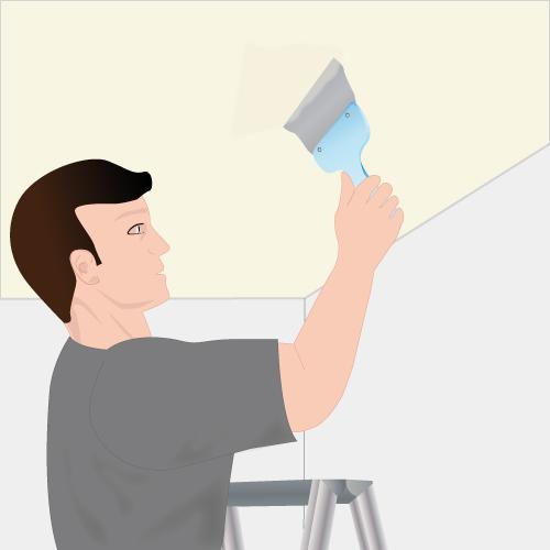 Enduire un plafond plafond - Comment enduire un plafond ...