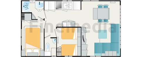 Plan de mobil home oorekab for Decoration interieur de mobil home