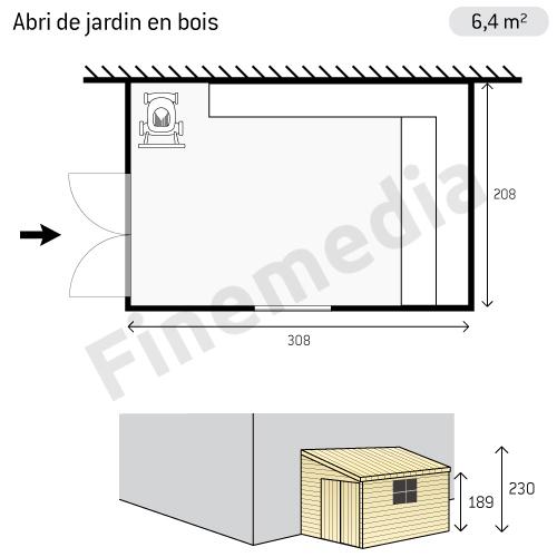De Jardin En Bois Gratuit = plan abri de jardin en bois plan d abri de