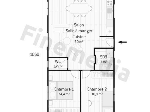 Plan Petite Maison Plain Pied Finest Style De Maison Neuve Plan De
