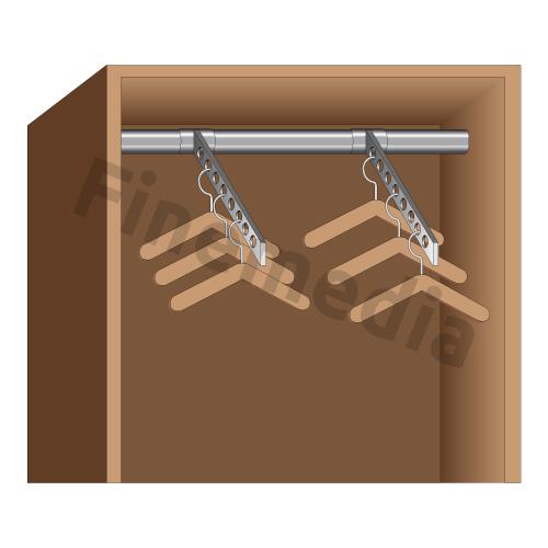 plan de placard rangement pour penderie. Black Bedroom Furniture Sets. Home Design Ideas