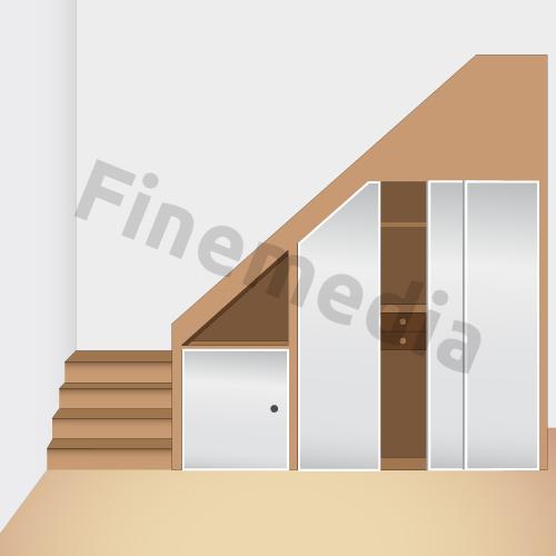 Placard rangement astuce et solution pour le rangement de placard for Rangement escalier