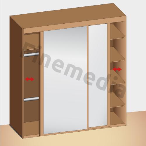 Placard rangement astuce et solution pour le rangement - Placard plastique rangement ...
