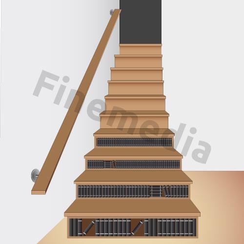 Placard rangement astuce et solution pour le rangement de placard - Etageres sous escalier ...