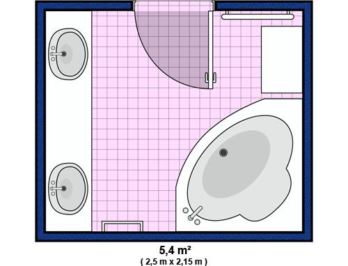 Salle de bain accessoires et meubles de salle de bain for Plan de salle de bain
