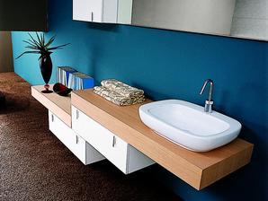 Plan de travail salle de bain infos et prix du plan de travail Plan de travail en teck