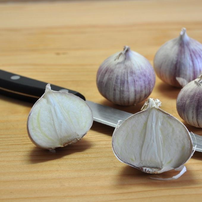 Autres espèces d'ail Ail faux poireau, carambole, poireau d'été (Allium ampeloprasum)