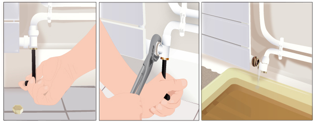 D monter et remonter un radiateur eau radiateur - Comment demonter un radiateur ...