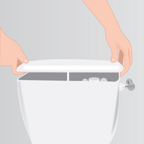 Remplacer une chasse d eau wc - Ouvrir une chasse d eau ...