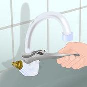 Réparer un robinet mélangeur qui fuit au col