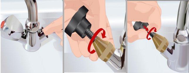 R parer les joints d 39 un robinet qui fuit plomberie - Comment changer les joints d un robinet ...