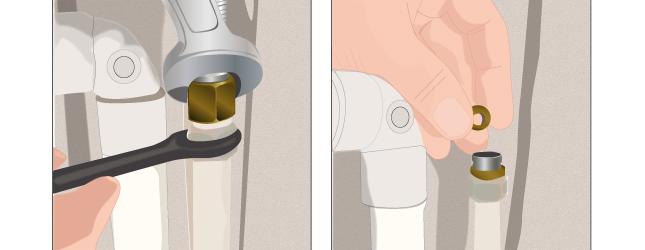 D monter un robinet plomberie - Un broc d eau ...