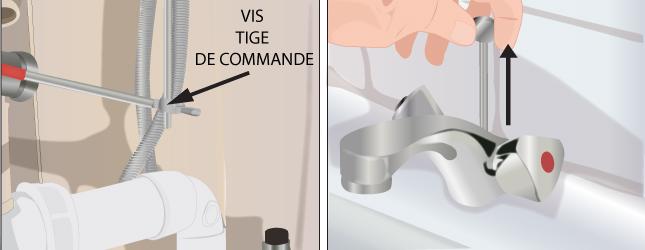 D monter un robinet plomberie - Arrivee d eau salle de bain ...