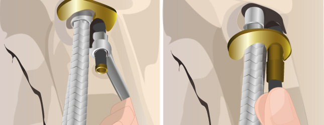 3 retirez les fixations du robinet sous lvier le lavabo ou la baignoire - Changer Le Robinet D Une Baignoire