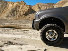 Desert jeep soleil