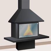entretenir la vitre d un insert ou d un po le bois po le chemin e. Black Bedroom Furniture Sets. Home Design Ideas