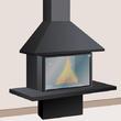 Entretenir la vitre d'un insert ou d'un poêle à bois