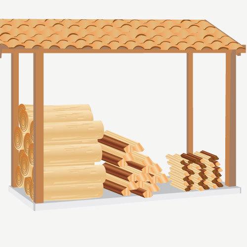 Conserver et stocker son bois de chauffage