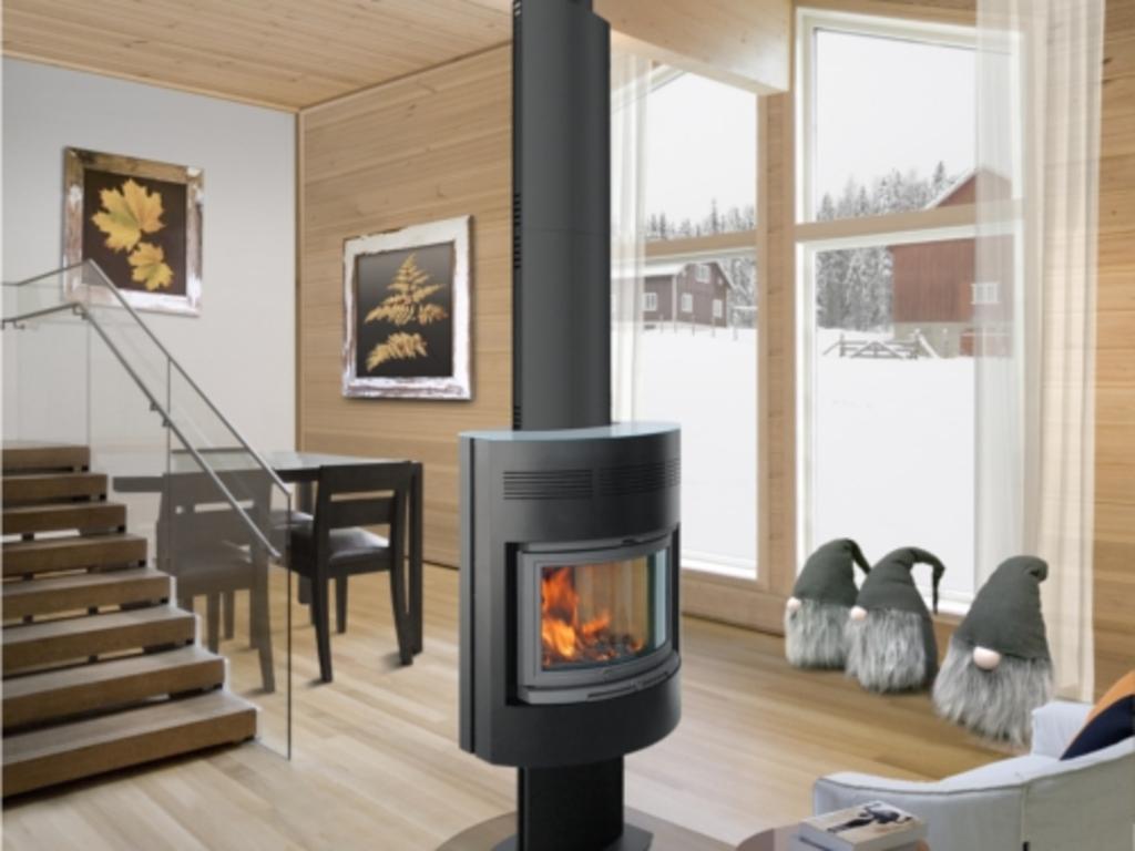 po le bois central avantages options prix ooreka. Black Bedroom Furniture Sets. Home Design Ideas