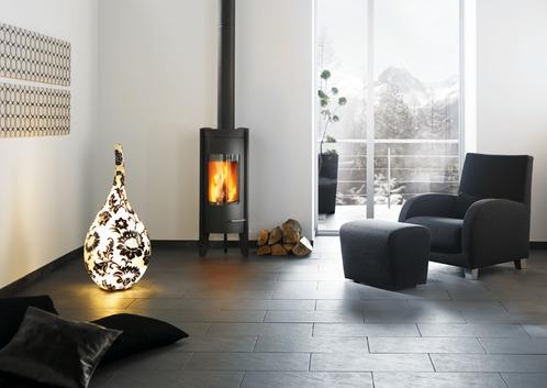 Différents types de cheminées : poêle et insert