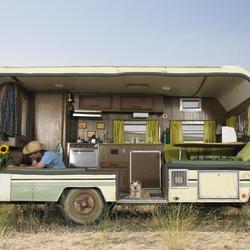 Chauffage au gaz pour camping-car