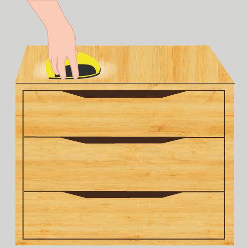 Poncer un meuble ponceuse for Poncer un meuble en bois