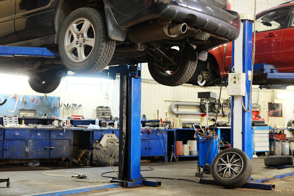 Pont l vateur de garage mod les usages prix ooreka - Garage pour reparation de voiture ...
