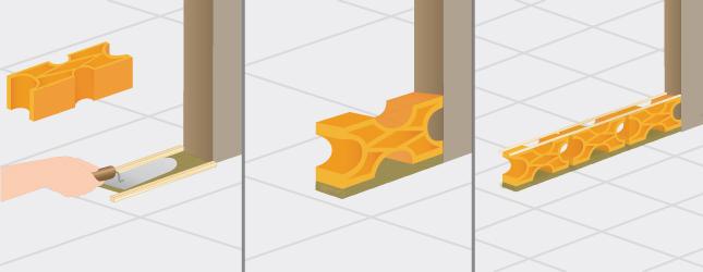 poser un mur en claustra portail cl ture. Black Bedroom Furniture Sets. Home Design Ideas
