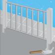Poser une clôture de piscine en ferronnerie