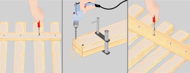 R nover une barri re en bois portail cl ture for Fabriquer une barriere en bois de jardin