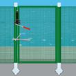 Poser une clôture souple de piscine