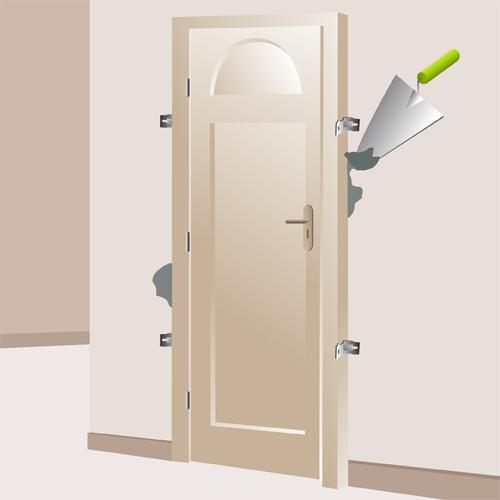 Installer une porte d 39 entr e porte for Installation d une porte d entree