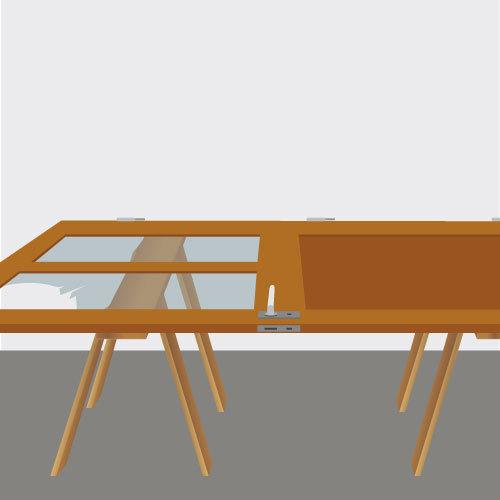 poser un vitrage sur une porte int rieure porte. Black Bedroom Furniture Sets. Home Design Ideas