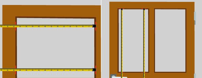 poser un vitrage sur une porte intérieure - porte