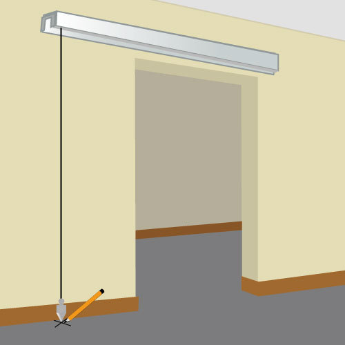 Installer une porte coulissante en applique porte - Installer porte coulissante ...