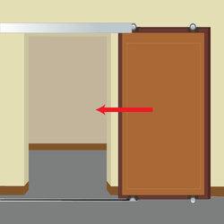 Porte coulissante verre tout sur la porte coulissante en for Installer une porte coulissante
