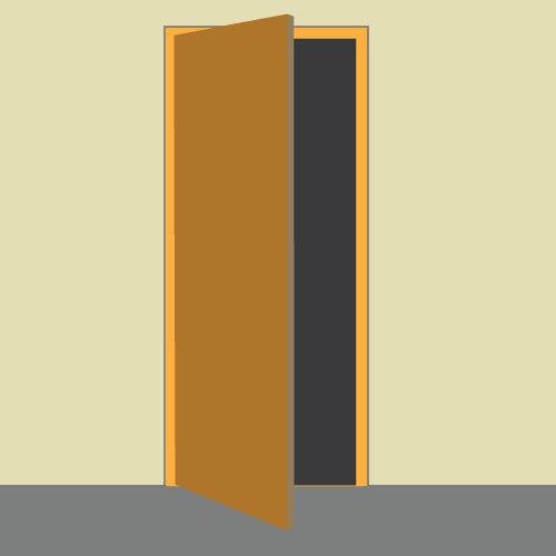 Poser un bloc porte
