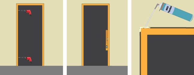 Poser Un Bloc Porte Porte - Changer une porte intérieure sans changer le cadre