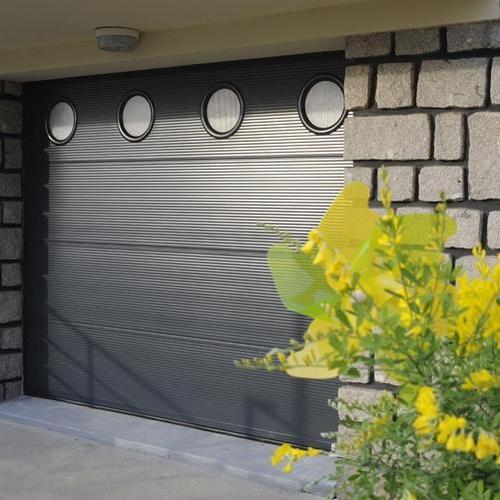 porte sectionnelle en acier