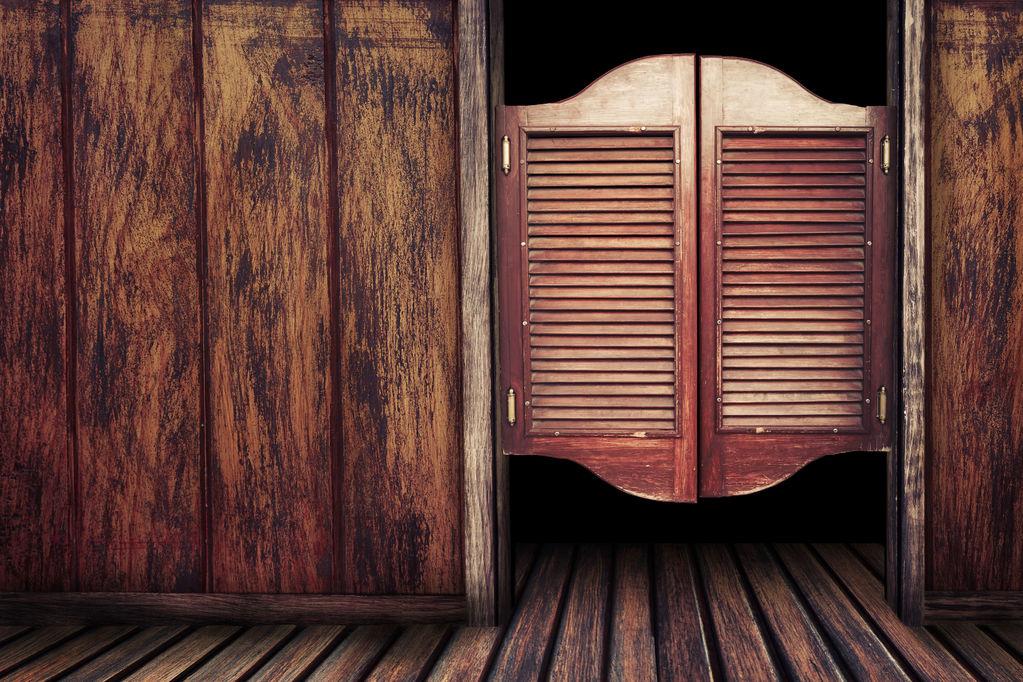 porte saloon tout sur la pose d 39 une porte saloon ooreka
