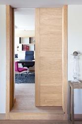 Porte coulissante bois tout sur la porte coulissante en bois for Porte coulissante en verre pas cher