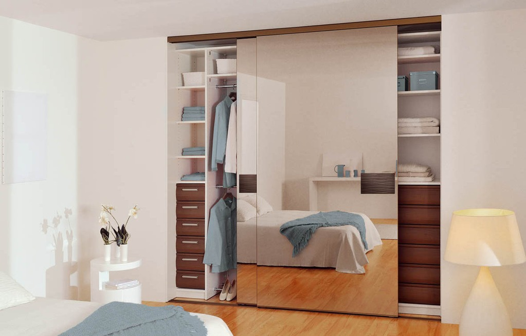 porte coulissante miroir usages et caract ristiques ooreka. Black Bedroom Furniture Sets. Home Design Ideas